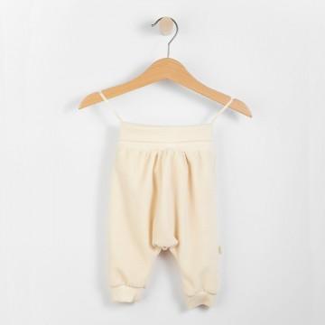 Pantaloni Wooly bumbac organic 80-86 cm