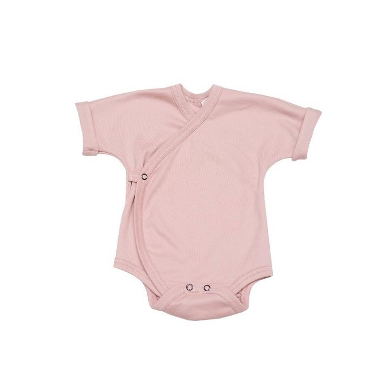 Body bumbac organic roz prafuit