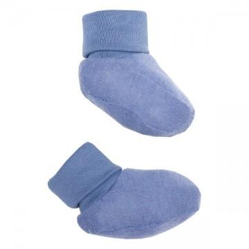 Botosei lana merinos albastru