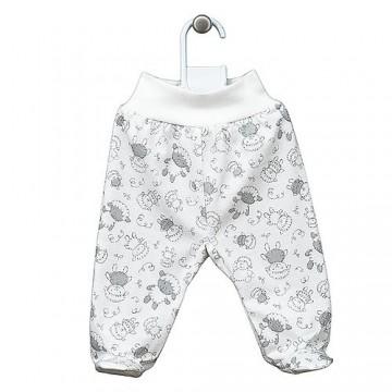 Pantaloni bumbac cu oite