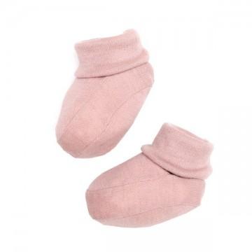 Botosei lana merinos roz